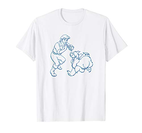 Disney The Little Mermaid Prince Eric and Max T-Shirt T-Shirt