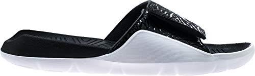 Jordan Men's Hydro 7 V2 Slides (10M, Black/White) -