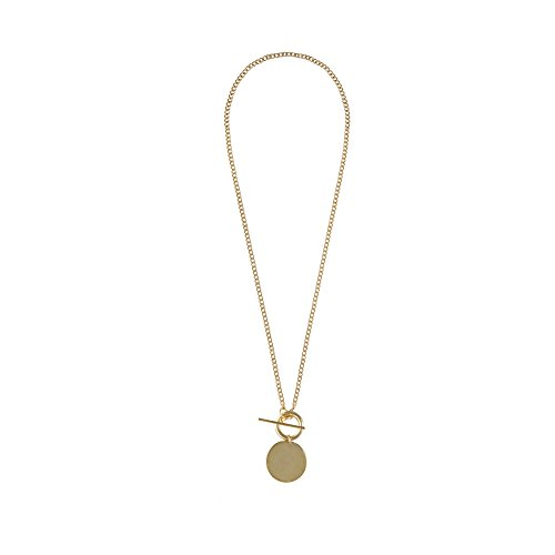 Wanderlust + Co Connect Toggle Gold Necklace