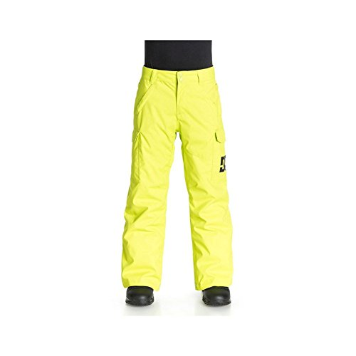 DC Big Boys' Banshee Boy Snow Pant, Lime Punch, 12/Medium by DC