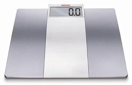 Soehnle Verona, LCD, Plata, Blanco - Báscula de baño