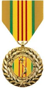 Medals of America Vietnam 50th Anniversary Commemorative Medal Anodized
