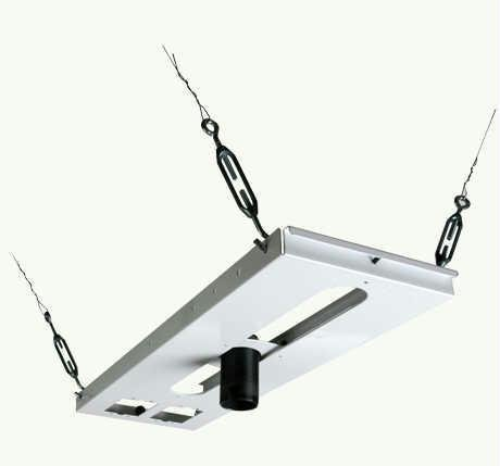 New - LIGHTWEIGHT ADJUSTABLE CEILING PLATE - (Nec Solutions Ceiling Mount)