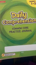 Daily Comprehension - Common Core Practice Journal - Grades 1-2