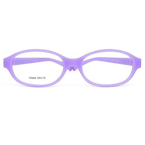 bf3368732c Children Optical Glasses Frame tr90 Flexible Bendable One-piece Safe  Eyeglasses Girls Boys