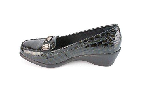 Jojo Comfort Cari Black Croc