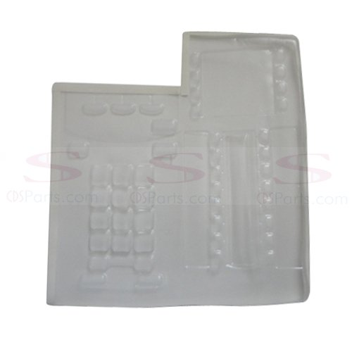 New Nortel Networks Norstar Meridian T7316 Clear Business Telephone Keypad Cover Skin - Nortel Networks Key