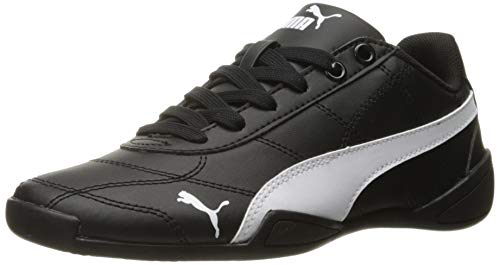 PUMA Tune Cat 3 Kids Sneaker (Big Kid), Puma Black/Puma White, 3.5 M US Big Kid