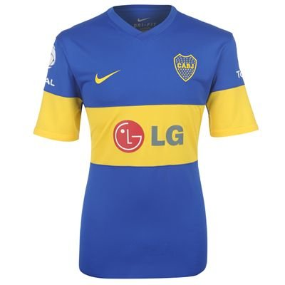 huge selection of e4e1a 7f4d5 2011-12 Boca Juniors Nike Home Football Shirt