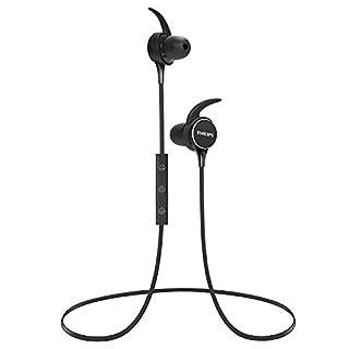 PHILIPS Wireless Earbuds Bluetooth Headphones, in Ear Headset Sport Stereo Earphone, Powerful Sound, IPX4 Waterproof with Mic