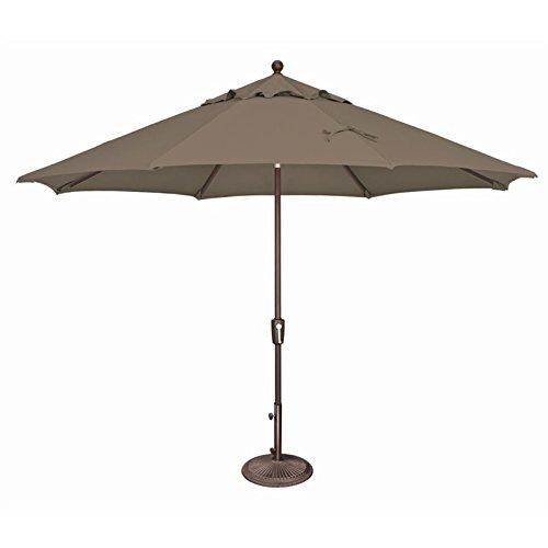 SimplyShade Catalina Patio Umbrella in Taupe For Sale