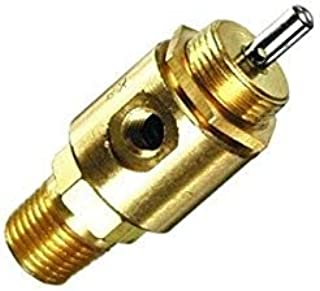 "product image for Clippard MAV-3P 3-Way Stem Valve, Normally-Closed, 1/8"" NPT, 4 SCFM at 50 PSIG, 6.8 SCFM at 100 PSIG"