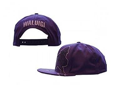 Nintendo Baseball Cap Waluigi Logo Official Purple Snapback from Nintendo