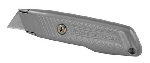 076174102994 - Stanley 10-299 5-1/2-Inch 299 Interlock Fixed Blade Utility Knife carousel main 0