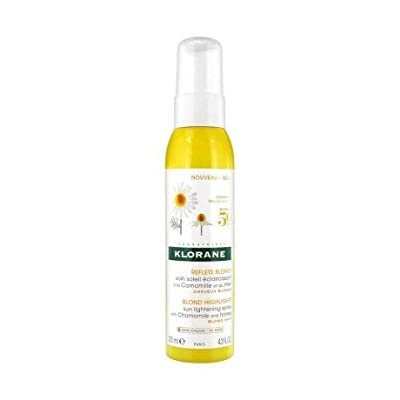 Klorane Sun Lightening Spray with Chamomile and Honey - Blond Hair , 4.22 fl. oz.