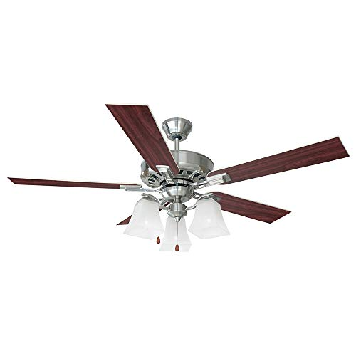 - Design House 154138 Torino 3 Light Ceiling Fan 52