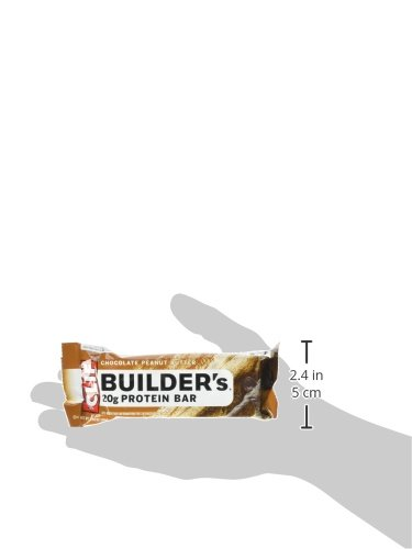 CLIF BUILDER'S - Protein Bar - Chocolate Peanut Butter - (2.4 oz, 6 Count)
