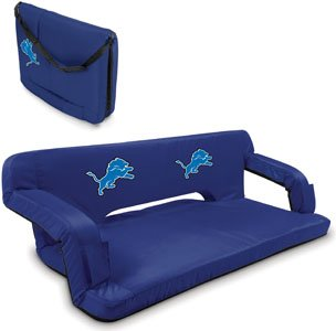 NFL Detroit Lions Digital Print Reflex Travel Couch, One Size, Navy (Reflex Travel Couch)