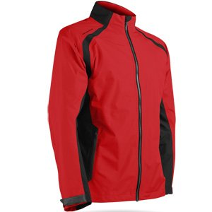 Sun Mountain Mens Cumulus Rain Jacket Red/Black XL ()