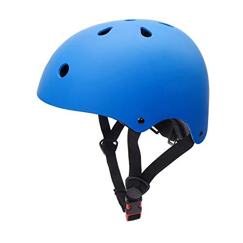 Glaf Toddler Helmet Kids Helmet 3-5 Years Multi-Sport Skateboard Cycling Helmet CPSC Certified Impact Resistance Ventilation Adjustable Helmet for Kids Bike Helmets for Toddlers (Blue, Small)