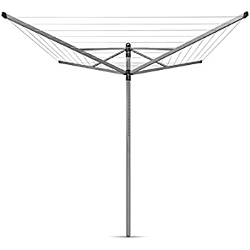 Brabantia Lift O Matic Rotary Dryer Clothes Line   196 Feet, 311048