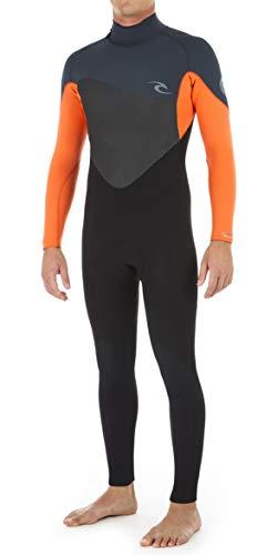 Rip Curl Classic Wetsuit - Rip Curl 2018 Omega 4/3mm Back Zip Wetsuit Orange WSM8JM Mens Wetsuits Size - MS