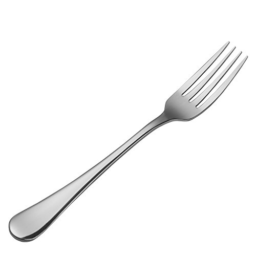 Hiware 12-piece Good Stainless Steel Dinner Forks Cutlery Set, 8 Inches by Hiware (Image #2)