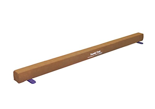 Tumbl Trak Addie Beam 8ft Suede Training Floor Balance - Suede Beam Balance