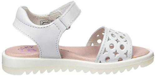 Pablosky Mädchen 444700 Sandalen Weiß