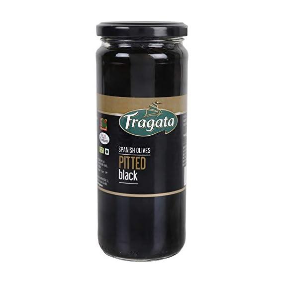 Fragata Pitted Black Olives 440g