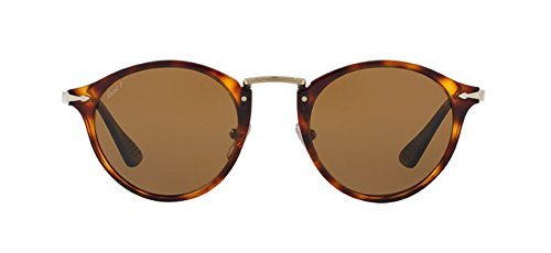 Unisex-Adults 3166 Sunglasses, Pink Havana/Brown 105971, 51 Persol