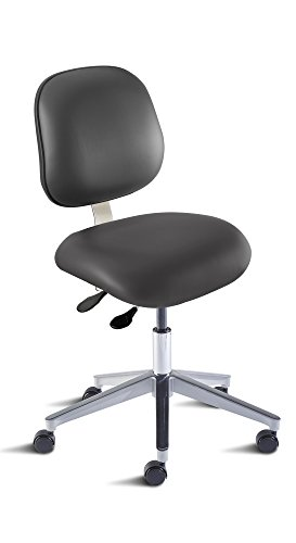 BioFit Engineered Products EEA-L-RC-C-AV126 Elite Series Desk Height Chair with Aluminum Base