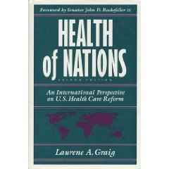 Health Of Nations  An International Perspective On U S  Health Care Reform