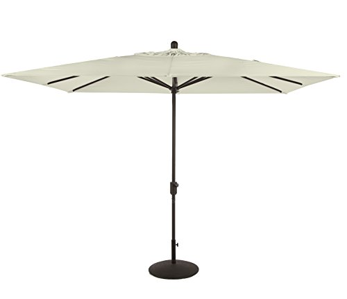Amauri Outdoor Living La Jolla Collection Outdoor Patio Umbrella, 10ft, with Natural Color Sunbrella ()