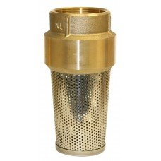 Merrill MFG FVNL300 No Lead Brass Foot Valve, 710 Series, 3'' Pipe Size, 3''
