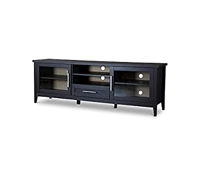 Baxton Studios Espresso One-Drawer TV Stand
