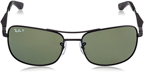 BLACK sol Ban 006 58 RB3515 de Ray Gafas MATTE 9A Zwq1Of8