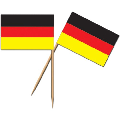 German Flag Picks   (50/Pkg) -