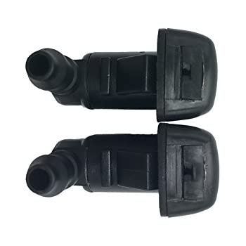 Amazon Com 2 Front Windshield Washer Nozzle Kit Fit For