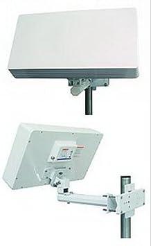 Selfsat - Antena parabólica plana (monoconexión): Amazon.es ...