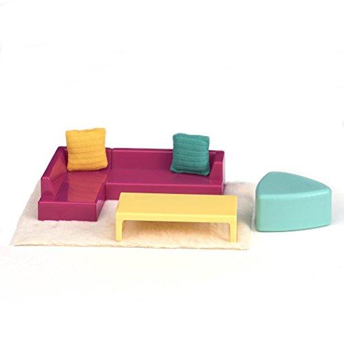 Lori Doll Living Room Lounge Set (Doll Living Room)