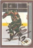 Filip Kuba Minnesota Wild 2002 Topps Autographed Card. This item comes with a certificate of authenticity from Autograph-Sports. Autographed