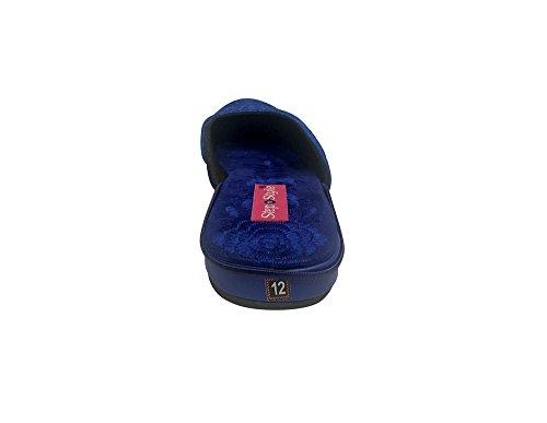Step n Style - Sandalias de vestir para mujer azul azul
