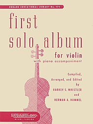 Whistler - First Solo Album. For Violin. Published by Rubank Publications.