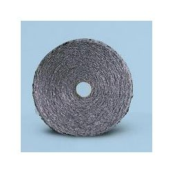 Global Material Technologies GMT 105046 Grade 3, 90 Microns Fiber Width, 5 lbs Coarse Industrial-Quality Steel Wool Reel