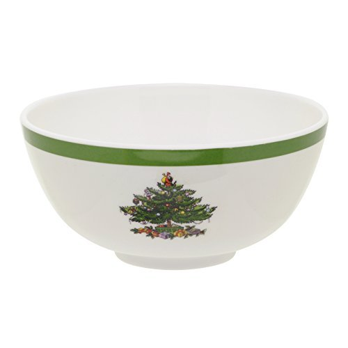 (Spode Christmas Tree Melamine Bowl, Set of 4 by Spode)