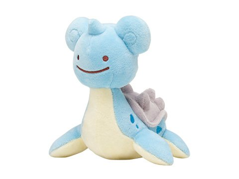 Pokemon Center Original Plush Doll Ditto Lapras (Laplace) 1021-
