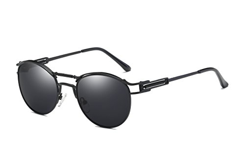 Bevi Polarized Polycarbonate Metal Sunglasses - Bulk Polarized Sunglasses