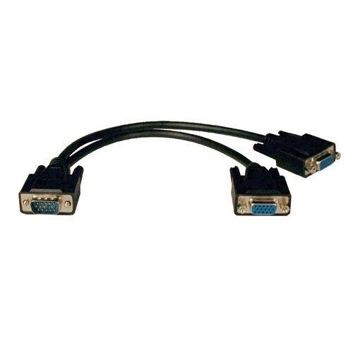 Tripp Lite P516-001 1-ft Male VGA to 2x Female VGA Video Y-S