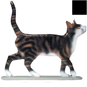 Whitehall Products Cat Standing Weathervane, 30-Inch, Garden Black